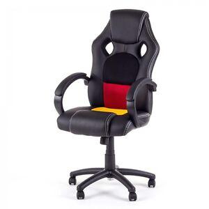 Chaise-de-bureau-Siege-de-bureau-Fauteuil-racing-gaming-sport-ordinateur-hauteur