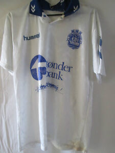 Tonder-Sportforening-Match-Worn-Football-Shirt-Size-Small-9397