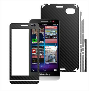 Details about Textured Carbon Skin,Full Body Protector Case,Vinyl Wrap For  BlackBerry Z30