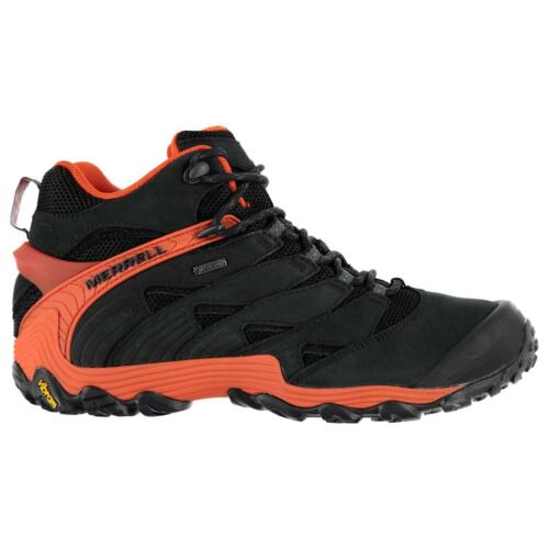Merrell Mens Gents Cham 7 Lace-Up Walking Hiking Sports Ankle Boots Winter Shoes