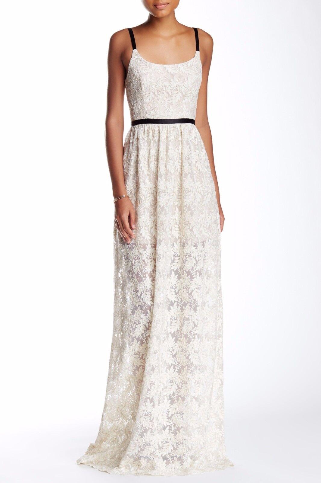 ABS by Allen Schwartz Lace Gown (size 8)