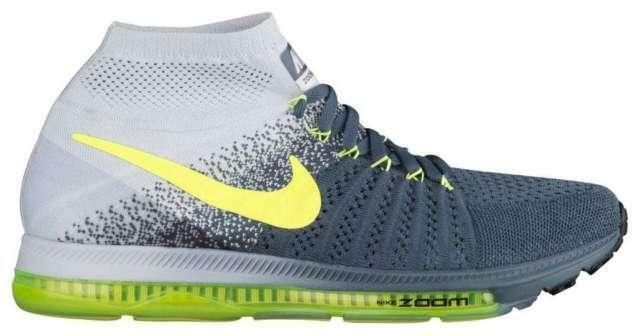 Mens NIKE ZOOM ALL OUT FLYKNIT Running Trainers 844134 407