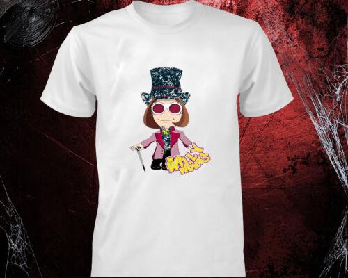 World Book Day 2019 T-shirt Willy Wonka kids Men Women Tee Top Roald Dahl