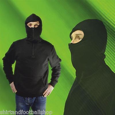 raccolta di sconti seleziona per il meglio offrire sconti Sweatshirt Ninja ultras Neutral Black High Quality 100% Made in Italy  S-M-L-XL footex | eBay