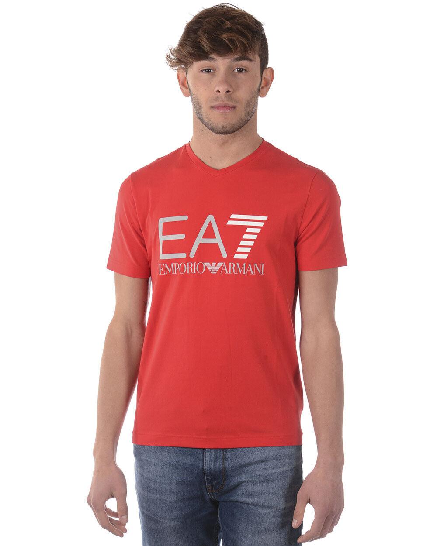 Emporio Armani EA7 T hemd schweißhemd Man rot 3ZPT34PJ20Z 1451 Sz. L PUT OFFER