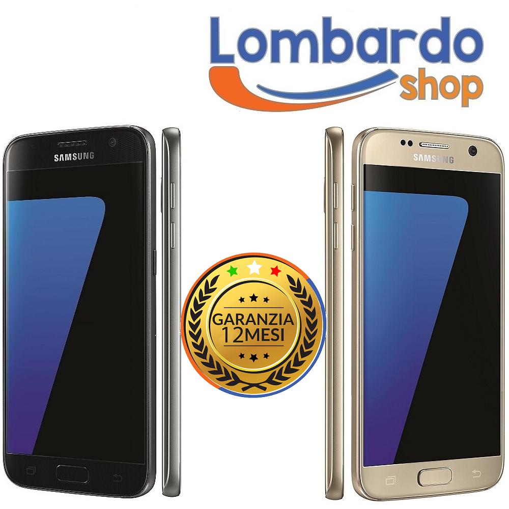 Samsung Galaxy: SAMSUNG GALAXY S7 NERO G930U 32GB RICONDIZIONATO ACCESSORI GRADO A USATO