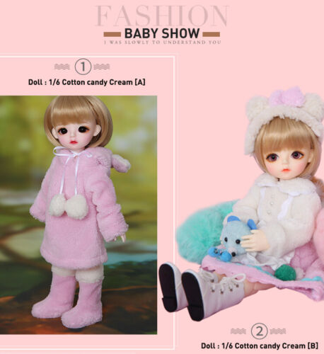 Muñeca 1//6 BJD doll Full Set Daisy Miu Cotton Candy recast Melissa