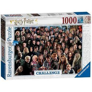 HARRY POTTER - CHALLENGE - Ravensburger Puzzle 14988 - 1000 Teile Pcs.