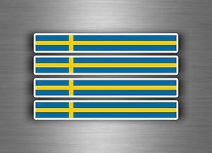 4x-sticker-adesivi-adesivo-vinyl-auto-moto-tuning-bandiera-jdm-bomb-svezia