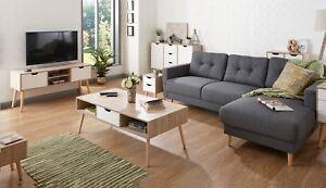 Image Is Loading Designer Scandinavian Style Living Room Furniture Oak White