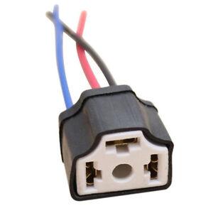 H4-9003-Ceramic-Wire-Wiring-Car-Head-Light-Bulb-Lamp-Harness-Socket-Plug-NSH