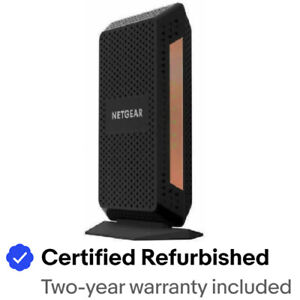 Netgear CM1100-100NAR Nighthawk DOCSIS 3.1 Cable Modem - Certified Refurbished