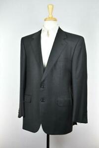 Brioni Mens 'Cesare' 2-Btn Fleece Wool Gray Suit Size 42 /52 R NEW $4950