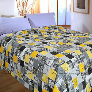 Copriletto Matrimoniale New York.Copriletto Matrimoniale Estivo Cotone Made Italy Piquet Usa New York Giallo N2 Ebay