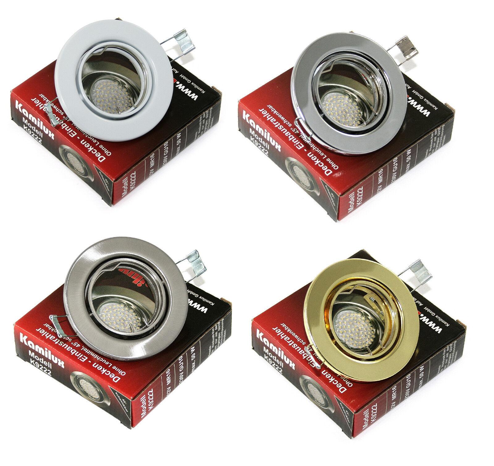 Lampada da da da soffitto Lia senza Alogena LAMPADINA LED orientabile gu10 o mr16 f0dd08