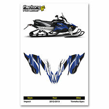 2012-2013 YAMAHA APEX GRAPHICS IMPACT STYLE  BY ENJOY MFG