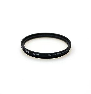 Heliopan-49mm-UV-Filter-Brand-New-Stock