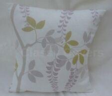 "Hand Made Bolster Cushion Cover In Laura Ashley Arlo Stripe Silver 16"" x 12"""