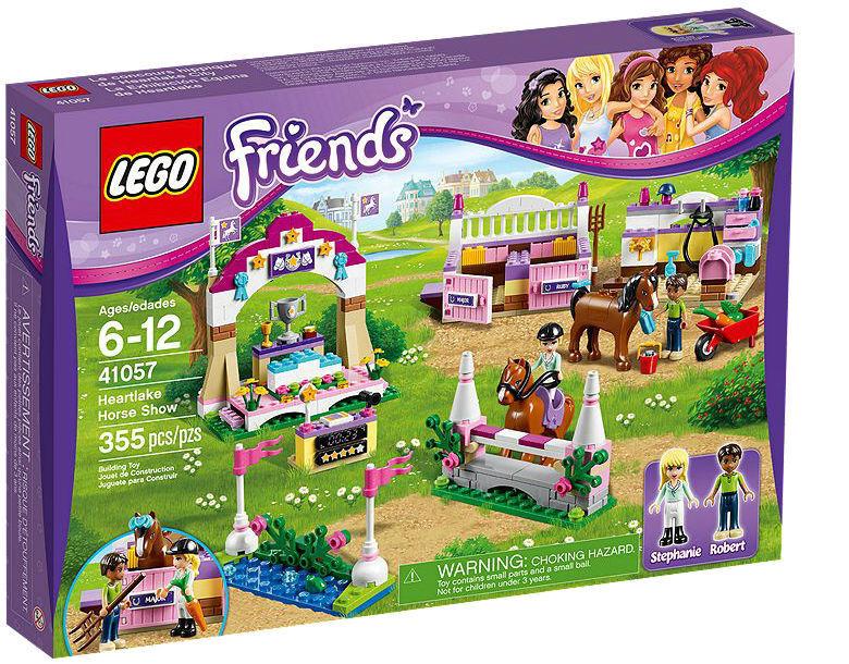LEGO LEGO LEGO FRIENDS La grande chevaux spectacle (41057) Neuf neuf dans sa boîte chevaux a8418b