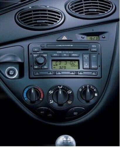 Ford Fiesta Puma Radio Stéréo CD Panneau Façade FP-07-00S Argent Clé