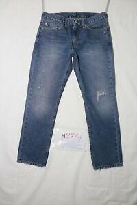 Levi-039-s-511-SLIM-STRAPPATO-usato-Cod-H2734-W34-L30-denim-jeans-dritto