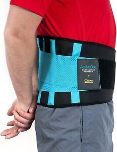 Faja Lumbar Espalda Unico Cinturón Lumbar Certificado por Médicos  XL 102-122 cm