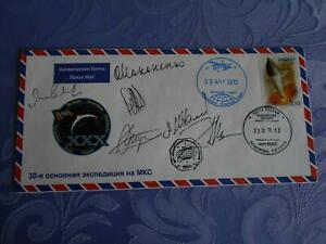 Sojus TMA-03M geflogene ISS Bordpost  6x O.U. Space