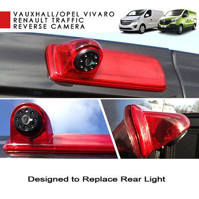 Renault Trafic Van de alto nivel de luz de freno trasera vista cámara de estacionamiento reversa
