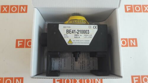 Limit Switch Box BE41-210003 NEW Max-Air Technology
