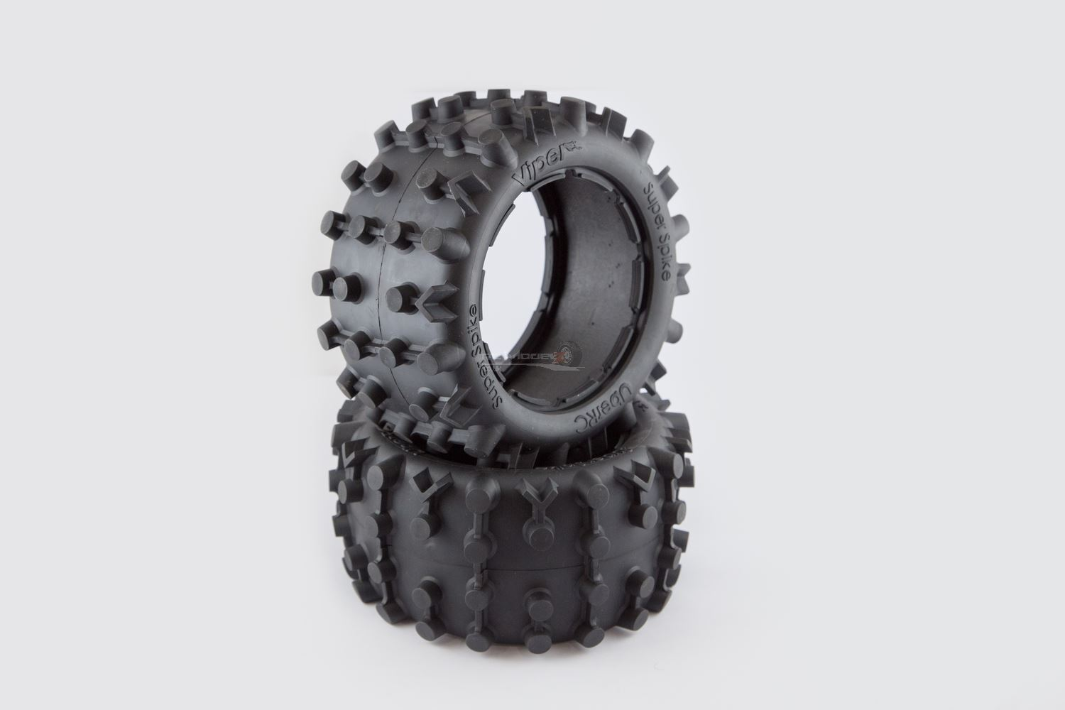 Super Spike Pair of Rear Tyres For HPI KM Baja 5B 5T 001 2.0 Upgrade RC Modelz