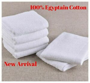 PACK OF 6 12 /& 18 FACE CLOTH TOWELS 100/% COTTON HEAVY WASH CLOTHS 500 GSM