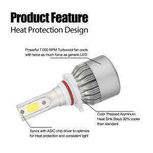 Image Is Loading Cree Led Headlight Kit H11 9005 Hb3 Bulbs