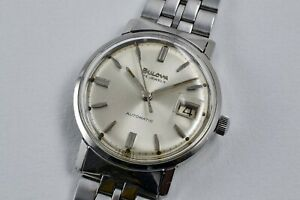 BULOVA-Date-Automatic-Vintage-1966-style-Omega-and-Movado