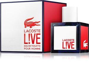 Los Angeles niska cena zakupy Details about Lacoste Live 60 ml Eau de Toilette for Men