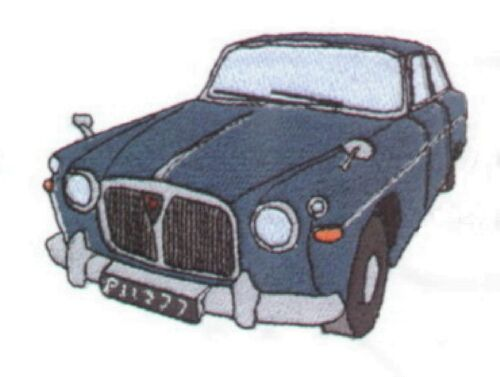 Rover P5 Embroidered /& Personalised Hoodie