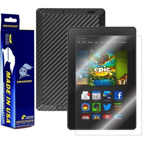 "Screen ArmorSuit MilitaryShield Kindle Fire HD 7/"" 2013 2nd Gen Black Carbon"
