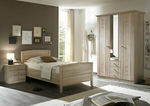 Senioren Schlafzimmer Kleiderschrank Komfort Bett Nachtschrank