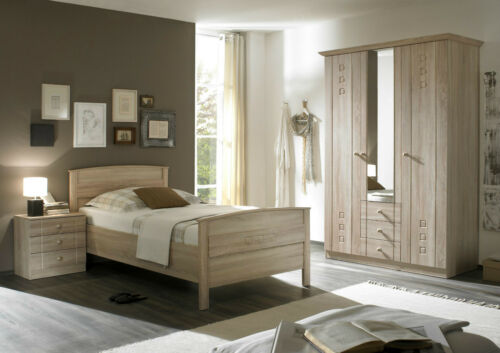 Senioren Schlafzimmer Matratze Nachtschrank Komfort Bett Kleiderschrank
