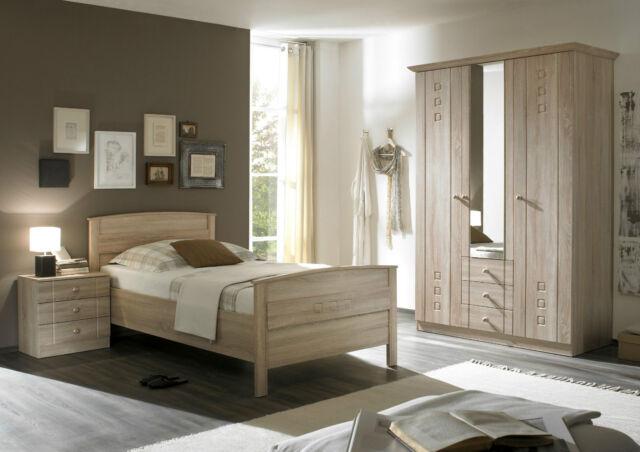 Senioren Komfort Schlafzimmer KOMPLETT Schlafzimmer Schrank + Bett + NaKo  uvm.