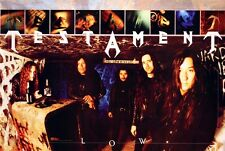 TESTAMENT 1994 LOW RARE PROMO POSTER ORIGINAL