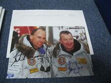 Bertrand Piccard and Brian Jones  Autographed Photo Postcard