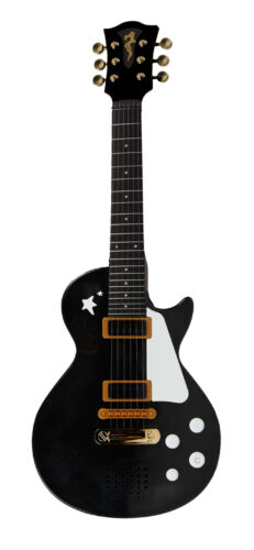 Simba MMW Rockgitarre Schwarz Rot Rosa Gitarre Musik Instrument Spielzeug