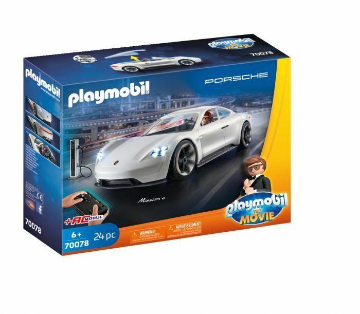 PLAYMOBIL LE FILM REX  Dasher la Porsche Mission E  NEUF  70078  prix de gros