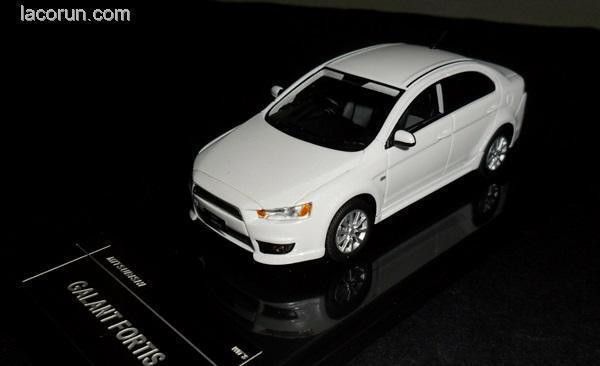 punto de venta en línea Mitsubishi Galant Fortis blancoo Perla ingenio de de de resina de 1 43 Modelo W76  lo último