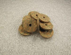 """Cork Ring, Vert Burl, 1/8"""" X 1.25 X 1/4 (4) Pcs-afficher Le Titre D'origine"""