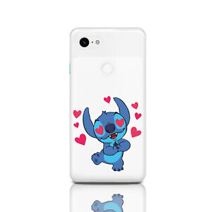 sneakers for cheap b09c1 e5823 Details about Silicone Google Pixel 3a XL Cover Lilo & Stitch Pixel XL  Rubber Protective Case