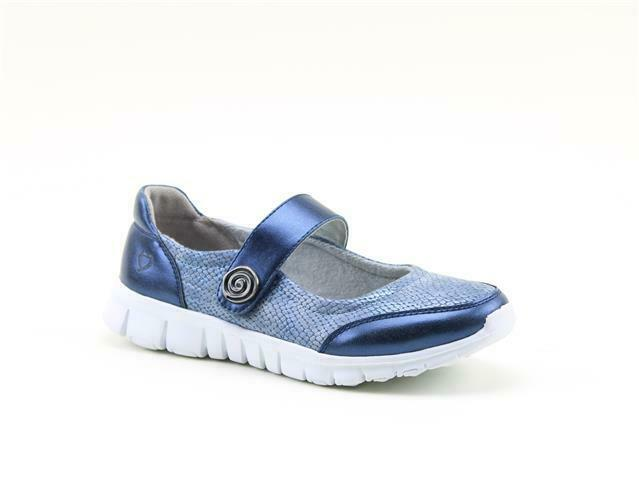 Heavenly Heavenly Heavenly Feet Alexia Navy Womens Casual shoes f77f37