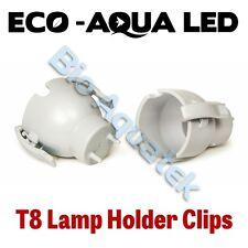 Arcadia Eco Aqua LED Aquarium Lamp - T8 Fitting Adapter Clips - ABE8PC