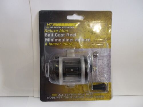 HT Deluxe Mini Bait Cast Reel right hand bait cast reel NIP