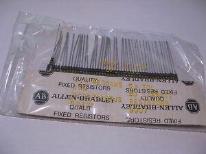 50-Pack-Allen-Bradley-Resistor-1-8-MegOhm-1-4W-5-RCR07G185JS-Carbon-Composition